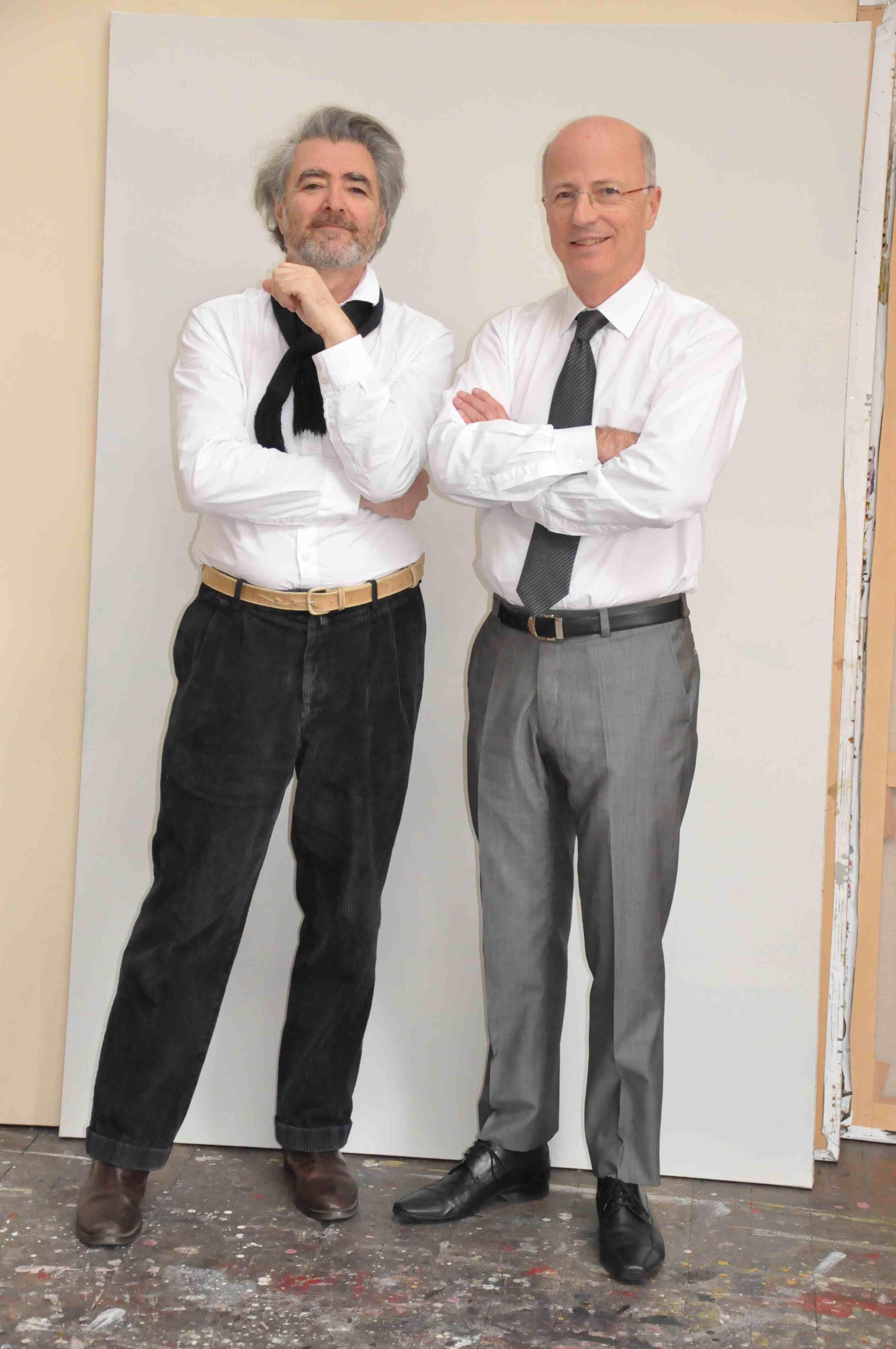 Nicola Borella et Ruben Alterio