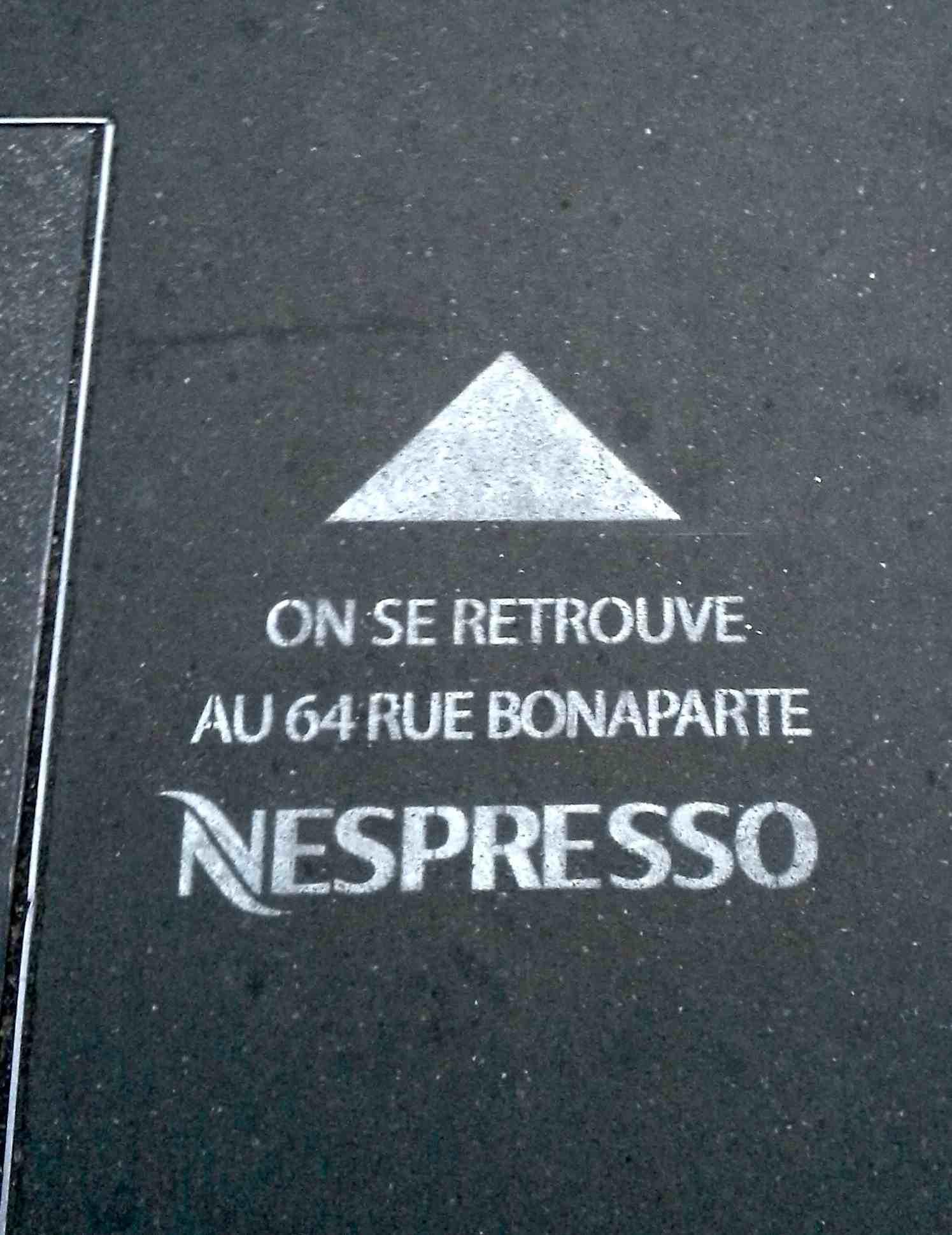 nespresso on the road