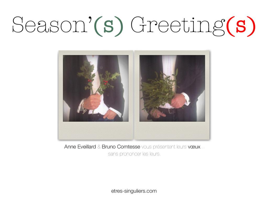 Seasnon's Greeting def